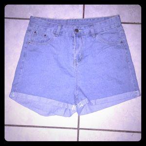 Pants - High waisted shorts